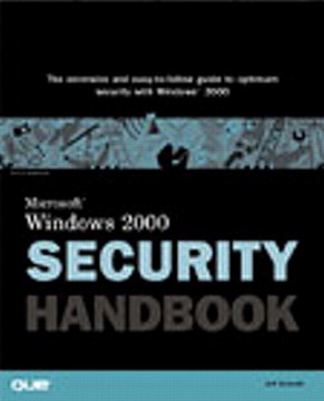 Microsoft® Windows® 2000 Security Handbook