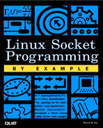 Cover of Linux Socket Programming by Example
