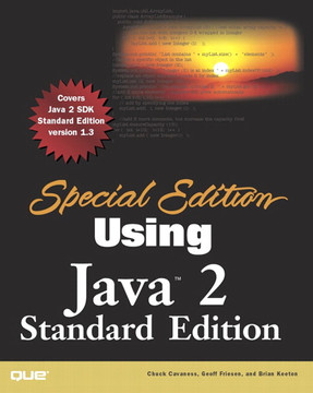 Special Edition Using Java 2 Standard Edition