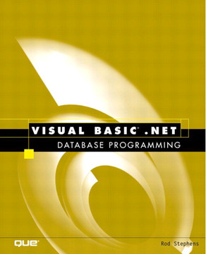 Visual Basic® .NET Database Programming