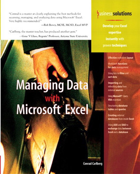 Managing Data with Microsoft® Excel