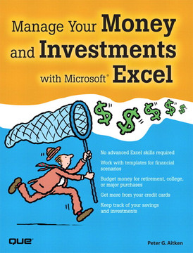 manage your money and investments with microsoft excel book