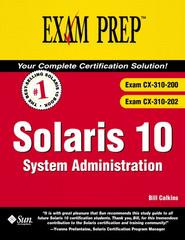 Solaris 10 System Administration Exam Prep™