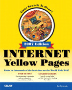 Cover of Internet Yellow Pages, 2007 Edition