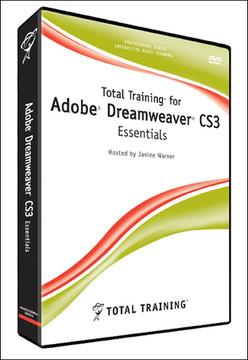 Total Training for Adobe Dreamweaver CS3: Essentials