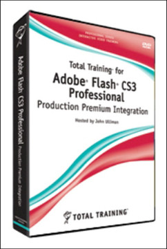 Total Training for Adobe Flash CS3 Professional: Production Premium Integration