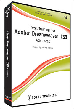 Total Training for Adobe Dreamweaver CS3: Advanced