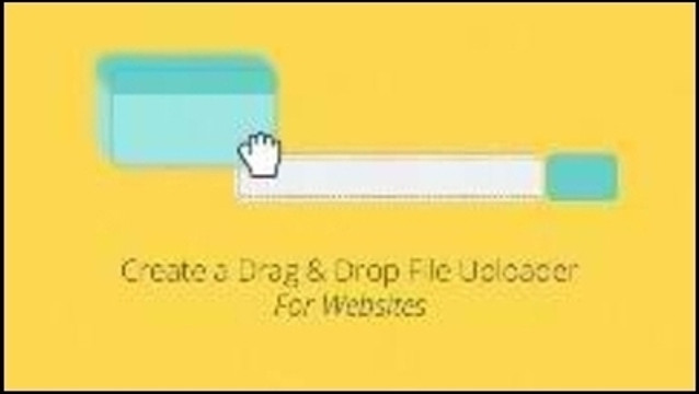 Create a Drag & Drop File Uploader for Websites