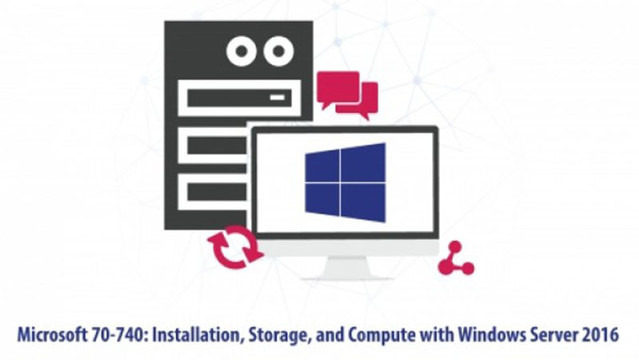 Microsoft 70-740 Installation, Storage and Compute with Windows Server 2016