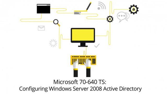 Microsoft 70-640 TS: Configuring Windows Server 2008 Active Directory