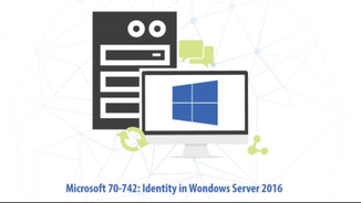 Cover of Microsoft 70-742: Identity in Windows Server 2016