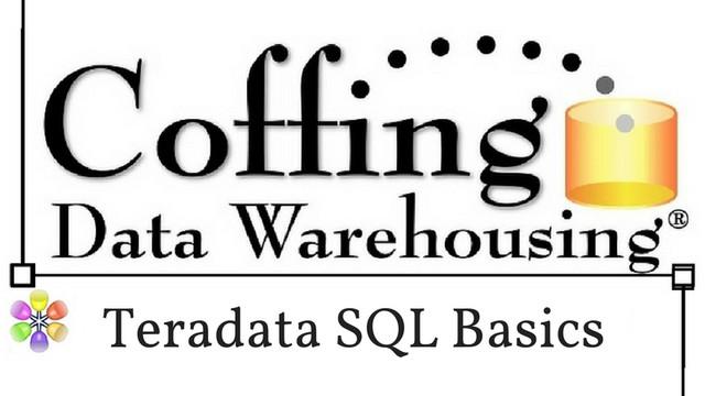 Teradata SQL 2 – Building Your SQL Knowledge
