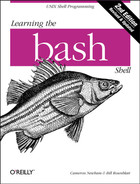 Cover image for Learning the bash Shell, Second Edition