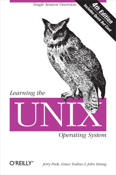 Learning the UNIX Operating System, Fourth Edition
