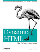 Cover image for Dynamic HTML: The Definitive Reference