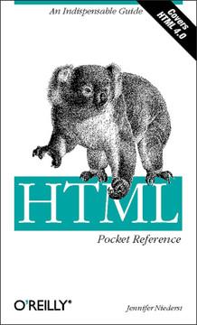 HTML Pocket Reference