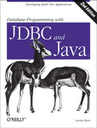 Cover image for Database Programming with JDBC & Java, Second Edition