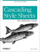 Cover image for Cascading Style Sheets: The Definitive Guide