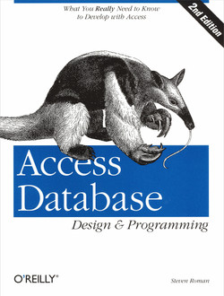Access Database Design and Programming, Second Edition