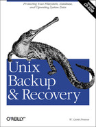 Cover image for Unix Backup and Recovery