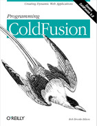 Cover image for Programming ColdFusion