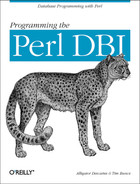 Cover image for Programming the Perl DBI