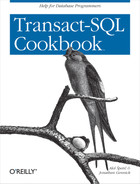Cover image for Transact-SQL Cookbook