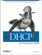 Cover of DHCP for Windows 2000