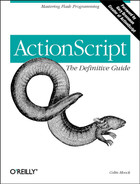Cover image for ActionScript: The Definitive Guide