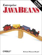 Cover image for Enterprise JavaBeans, Second Edition