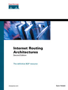 Cover of Internet Routing Architectures, Second Edition