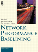 Book cover for Network Performance Baselining