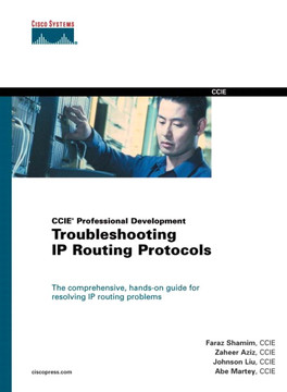 Troubleshooting IP Routing Protocols