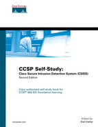 Cover of CCSP Self-Study: Cisco Secure Intrusion Detection System (CSIDS)