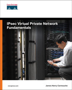 Cover of IPsec Virtual Private Network Fundamentals