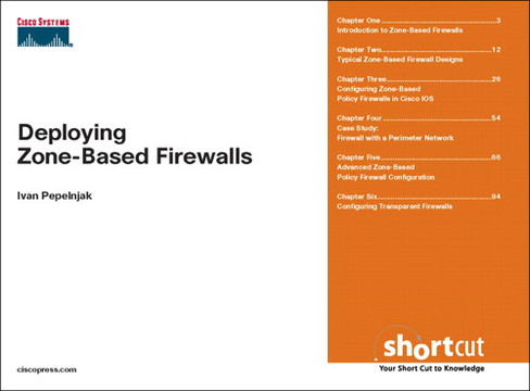 Deploying Zone-Based Firewalls
