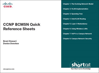 CCNP BCMSN Quick Reference Sheets: Exam 642-812