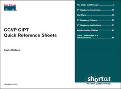 CCVP CIPT Quick Reference Sheets