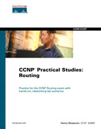 Cover of CCNP® Practical Studies: Routing