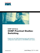 Cover of CCNP Self-Study CCNP Practical Studies: Switching