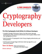 Cover of Cryptography for Developers