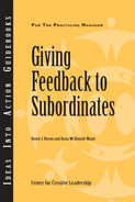 Cover of An Ideas Into Action Guidebook: Giving Feedback to Subordinates