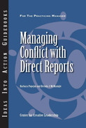 Cover of An Ideas Into Action Guidebook: Managing Conflict with Direct Reports