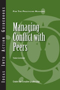 Cover of Managing Conflict with Peers