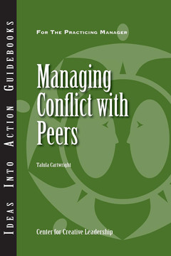 An Ideas Into Action Guidebook: Managing Conflict with Peers