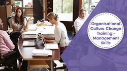 Organisational Culture Change Training - Management Skills