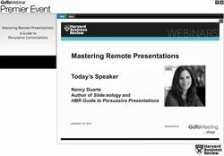 Mastering Remote Presentations