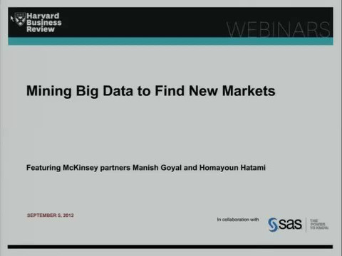 Mining Big Data To Find New Markets
