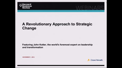 A Revolutionary Approach to Strategic Change