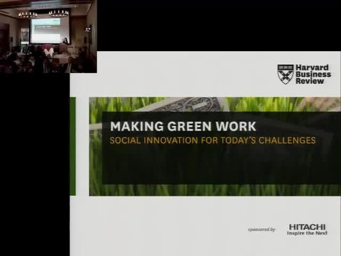 Making Green Work - Andrew Winston at The Harvard Club NYC